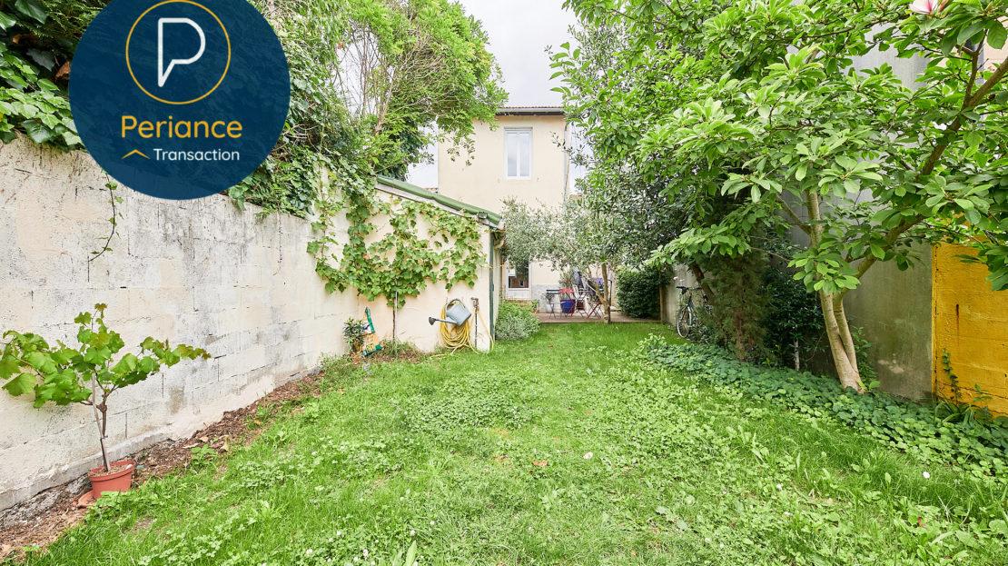JARDIN 3 - Maison avec jardin à vendre Bordeaux Bacalan