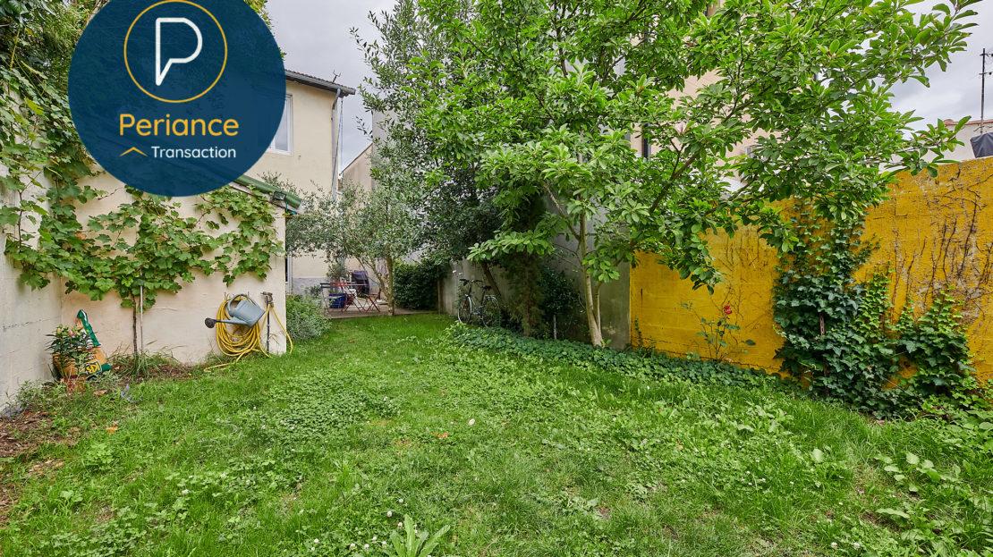 JARDIN - Maison avec jardin à vendre Bordeaux Bacalan