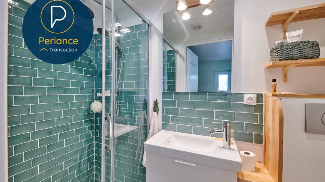 Salle d'eau dépendance - Maison avec jardin à vendre Bordeaux Bacalan