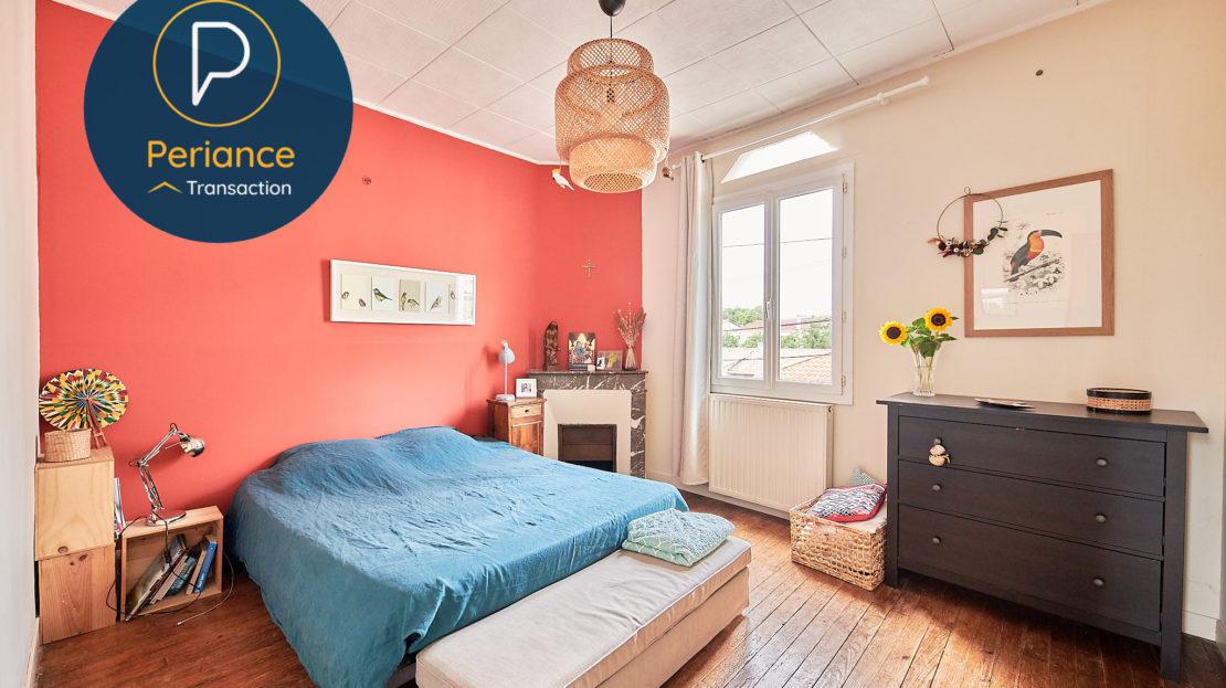 Chambre 2 - Maison avec jardin à vendre Bordeaux Bacalan