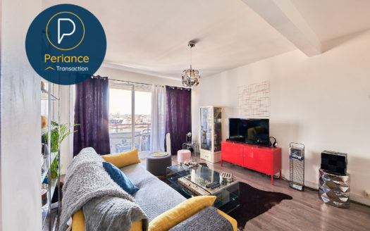Séjour 4 - Appartement T3 à vendre Bordeaux Parc Rivière