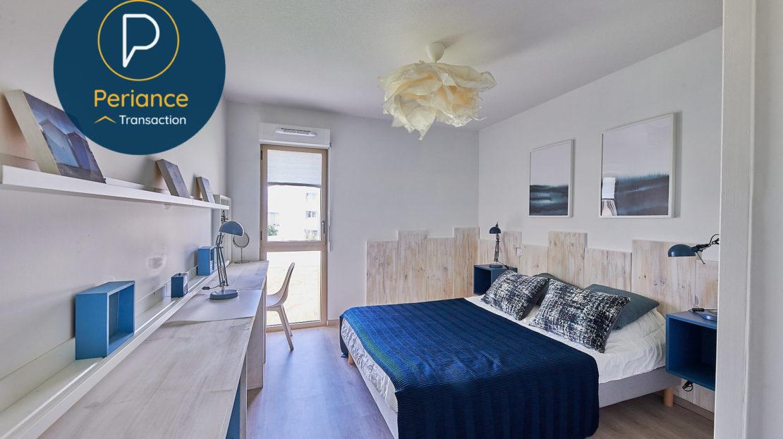 chambre 2.2 - Appartement T3 à vendre à Bordeaux Bassin à Flot