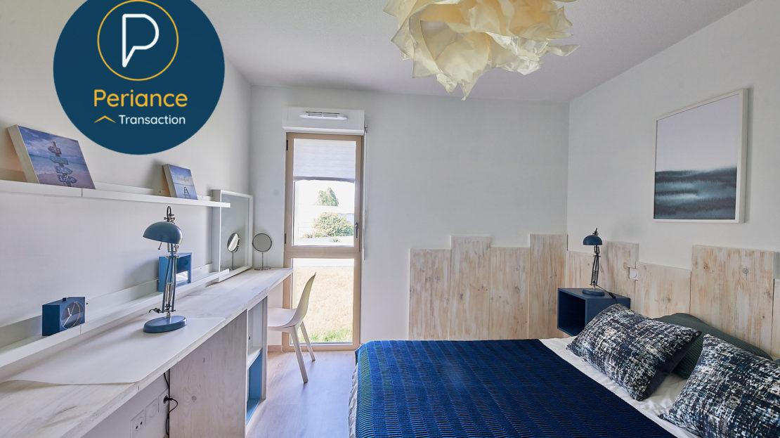 chambre 2 - Appartement T3 à vendre à Bordeaux Bassin à Flot