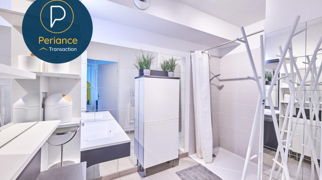 salle d'eau - Appartement T3 à vendre à Bordeaux Bassin à Flot
