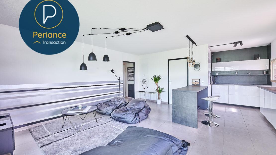 séjour 2 - Appartement T3 à vendre à Bordeaux Bassin à Flot