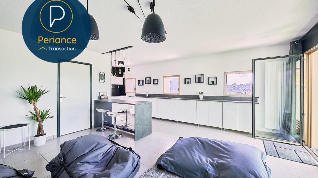 séjour - Appartement T3 à vendre à Bordeaux Bassin à Flot