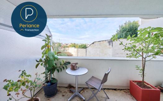 Balcon Appartement T2 avec balcon à vendre à Bordeaux Parc Rivière